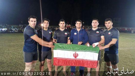 با حضور كبدي كار ميانه اي تیم ملی سرکل کبدی ایران به مقام سومی آسیا دست یافت
