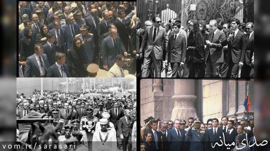 تصاویر دیده نشده از مراسم تشییع محمدرضا شاه/ روایاتی از زندگی خصوصی شاه