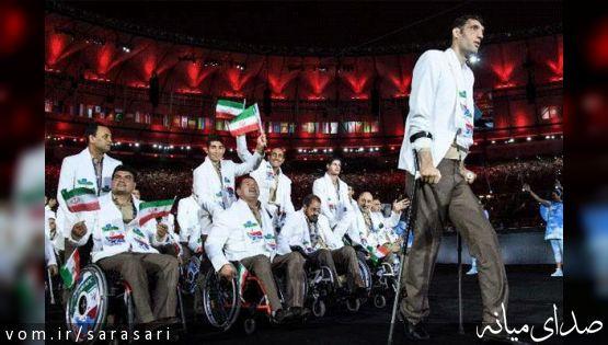 سیامند رحمان قویترین، مرتضی مهرزاد بلندقدترین ورزشکار تاریخ پارالمپیک