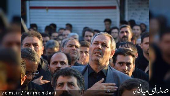 تجمع عظیم عزاداران حسینی در میانه برگزار شد