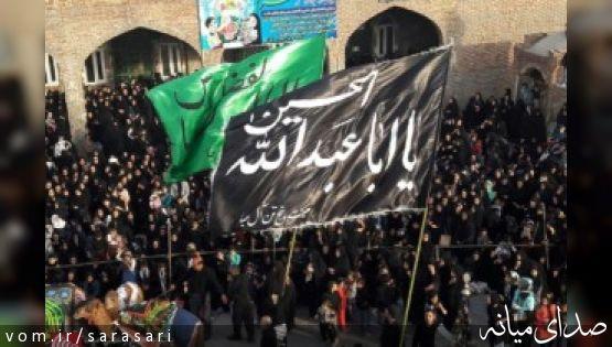 تصاویر اجتماع عزادارن تاسوعای حسینی در امامزاده اسماعیل(ع) میانه