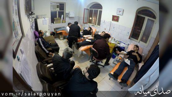 خبرگزاری مهر: اهدای خون به مناسبت عاشورای حسینی در شهر میانه/ عکس: سالار پویان
