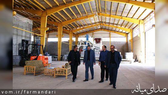 فرماندار ویژه میانه از پروژه های عمرانی شهرداری بازدید کرد