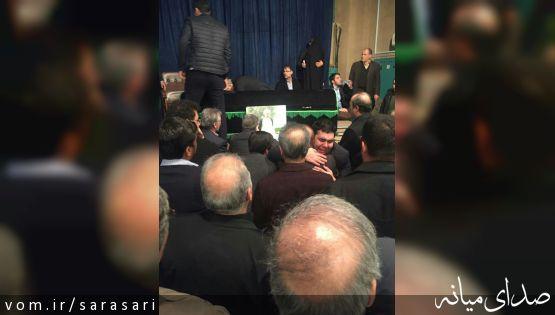 تصویر پیکر آیت الله هاشمی رفسنجانی در جماران