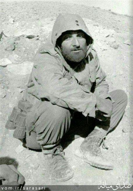 چهره خسته و خاکی شهید باکری در 28 سالگی + تصویر