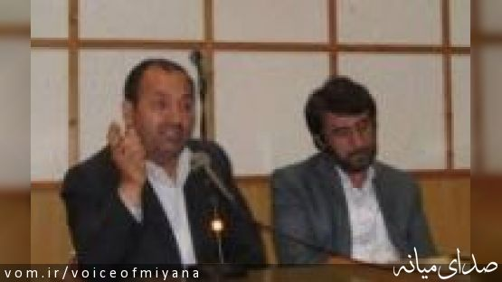 سخنان نمایندگان میانه درآیین افتتاح ساختمان اداری تامین اجتماعی ترکمانچای