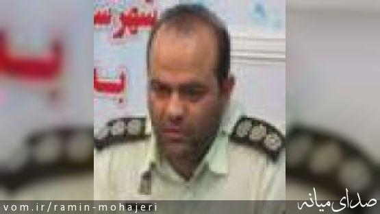 جناب آقای خشتگر ، فرمانده محترم نیروی انتظامی شهرستان میانه