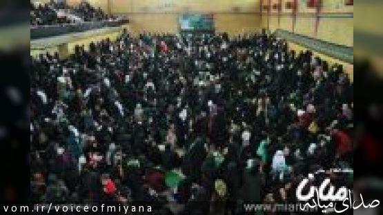 گزارش تصویری /همایش بزرگ شیر خوارگان حسینی در شهر میانه