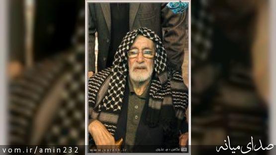 حضور افتخاری فخرالذاکرین حاج فیروز زیرک کار در میانه ((شب اربعین))
