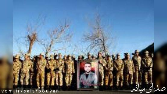 خبرگزاری مهر: مراسم تشییع پیکر شهید علی خوش کلام در شهر میانه