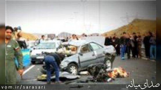 4 مصدوم در حادثه رانندگی میانه - تبریز