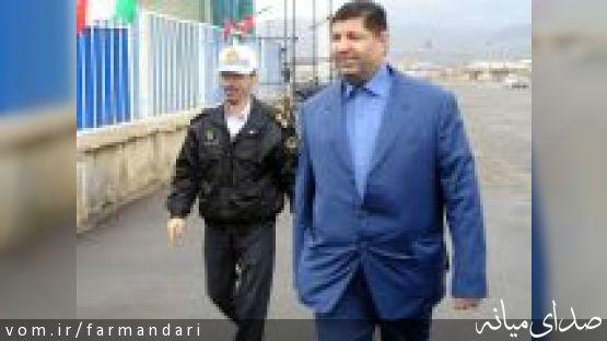 تلفات جاده ای نوروز در میانه، صفر/ حیدری آزاد از پاسگاه پلیس راه میانه-زنجان بازدید کرد