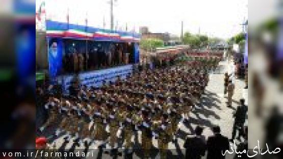 فرماندار ویژه میانه: بالاترین افتخار برای ارتش مردمی بودن آن است/گزارش تصویری روز ارتش