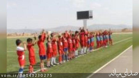 صعود تيم منتخب نوجوانان ميانه به ليگ مناطق كشوري