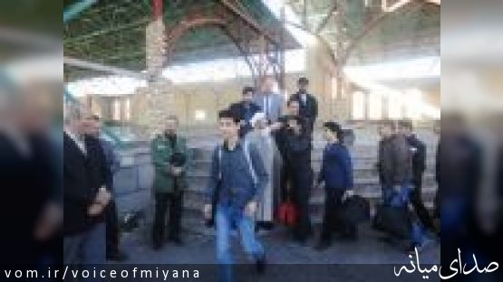 اعزام 120 نفر از میانه در قالب کاروان راهیان نور به مناطق عملیاتی
