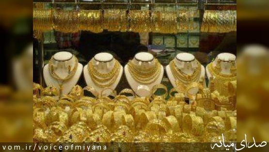 پارچه فروشی طلافروشان میانه به دلیل تعیین مالیات های سنگین