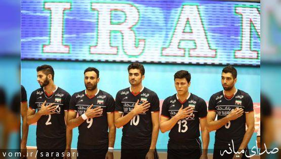 تبریک : صعود والیبال ایران به المپیک با شکست قهرمان المپیک
