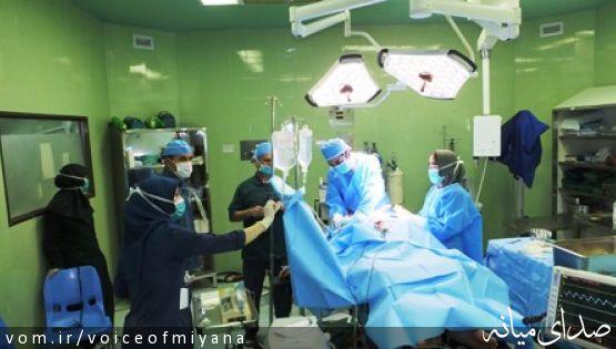 عمل جراحی موفقیت آمیز تومورمغزی خانم مسن در میانه