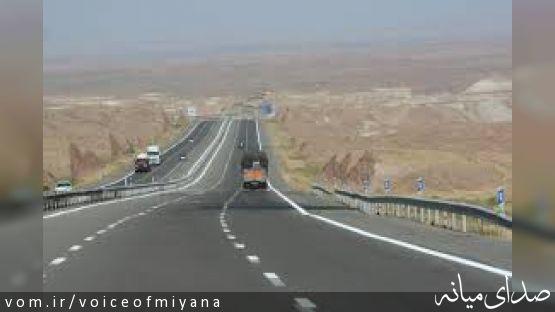 افتتاح پروژه چهار بانده سازی جاده ترانزیت زنجان-میانه در حوزه استان زنجان