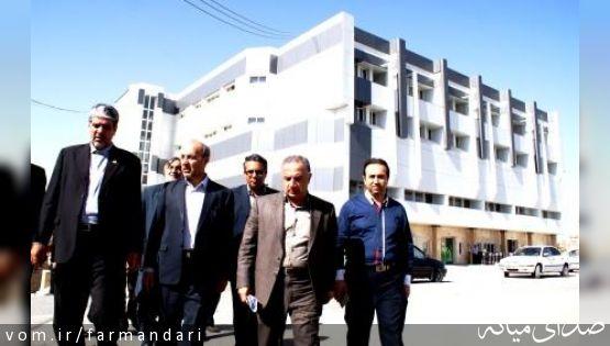 رییس دانشگاه علوم پزشکی تبریز از بیمارستان امام خمینی میانه بازدید نمود