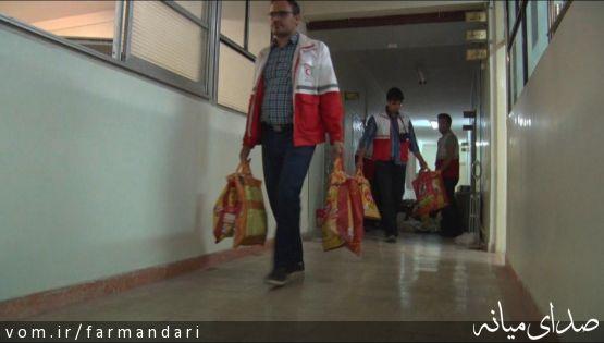 500 بسته ارزاق از سوی جمعیت هلال احمر شهرستان میانه در بین نیازمندان توزیع شد