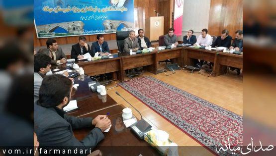 فرماندار ویژه میانه: اختصاص 234 میلیارد ریال اعتبار از محل تملک و دارییهای سرمایه ای استان به شهرستان میانه