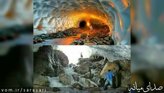 جزئیات ریزش تونل برفی شهرستان ازنا +تصویر
