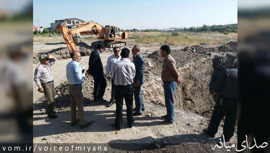گزارش تصویری بازدید فرماندار ویژه میانه از طرح های عمرانی شهرستان