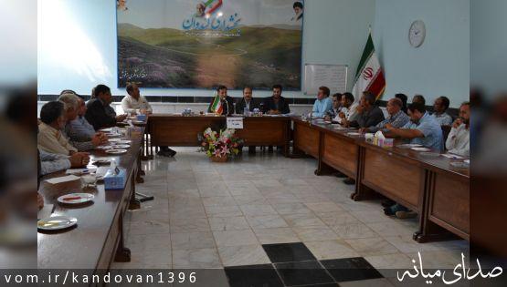 بخشدار کندوان: جدیت شورا و دهیار موجب توسعه منطقه خواهد بود