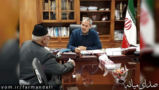 دیدار مردمی فرماندار ویژه شهرستان میانه دوشنبه امروز برابر با 17 مهر ماه برگزار شد