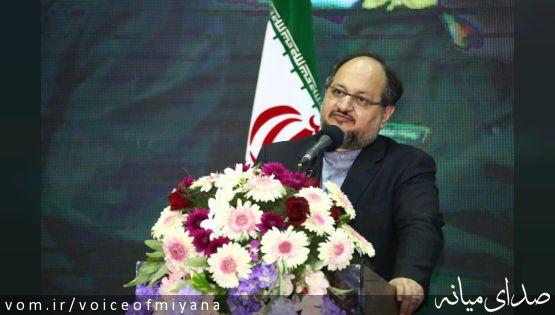 سخنان وزیرصنعت در مراسم رسمی افتتاح کارخانه آهن اسفنجی فولاد میانه