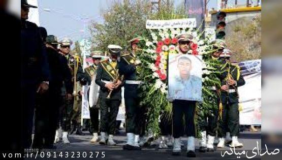 حضور امام جمعه محترم  میانه در منزل سرباز رشید اسلام «شهید امیر قربانی»+گزارش تصویری