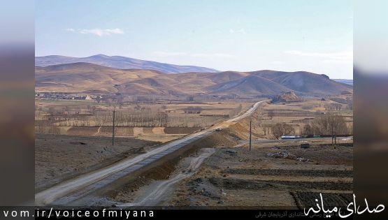 تصاویر بازدید استاندار از پروژه راه آهن بستان آباد - میانه