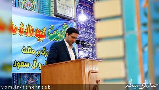 مشروح سخنان شهردار میانه قبل از خطبه های نماز جمعه ؛از اعلام برنامه ها تا انتقاد از رسانه ها +تصاویر