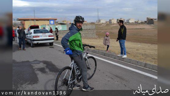 گزارش تصویر مسابقه دوچرخه سواری کندوان به مناسبت میلاد نبی اکرم (ص)