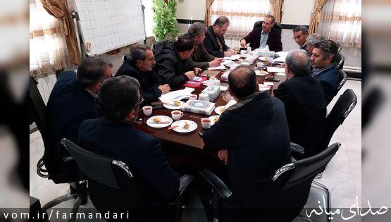 جلسه صدور مجوزهای اصولی احداث گاوداری 6 هزار رأسی در میانه تشکیل شد