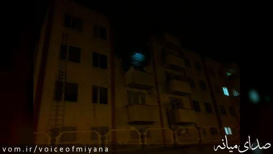 یک کشته در آتش سوزی در مسکن مهر صدرای میانه +تصویر