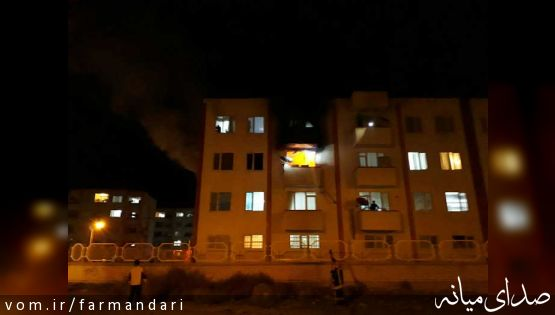 مصدومین حادثه آتش سوزی مسکن مهر ترخیص شدند