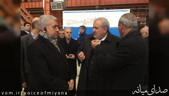 با دستور وزیر نیرو پروژه بادی آقکند میانه افتتاح شد +تصویر