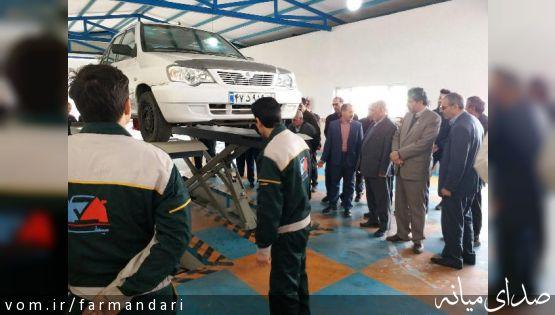 همزمان با هفتمین روز از دهه مبارک فجر 8 پروژه عمرانی در شهر میانه به بهره برداری رسید.