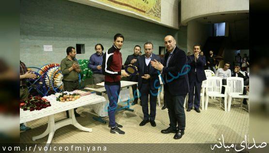 برای دومین سال متوالی ؛مهدی انصاری بهترین شناگر ایران شد +تصویر