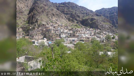 گردشگران از روستای کهبنان بخش مرکزی بازدید کردند