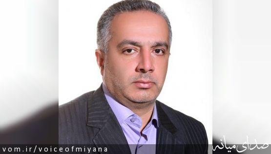 پیام تشکر دکتر طاهری مدیر سابق شبکه بهداشت شهرستان میانه