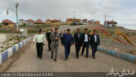 مدیر کل امور شهری و شوراهای استان در بخش کندوان میانه: بوم گردی و گردشگری زمینه ساز اشتغال بخش است.