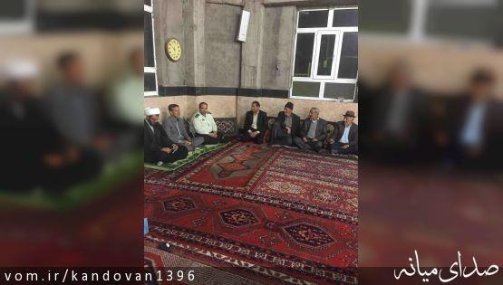 بخشدار کندوان از پروژه های در حال اجرای بخش کندوان بازدید کرد.