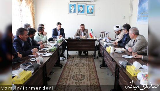 فرماندار ویژه میانه: فرآیند بازدید از ادارات توسط کارگروه ارزیابی برای اصلاح امور است