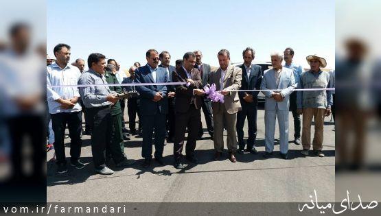افتتاح 6 پروژه عمرانی بخش کاغذکنان میانه درپنجمین روز از هفته دولت