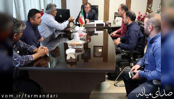جلسه ملاقات مردمی فرماندار ویژه شهرستان میانه برگزار شد