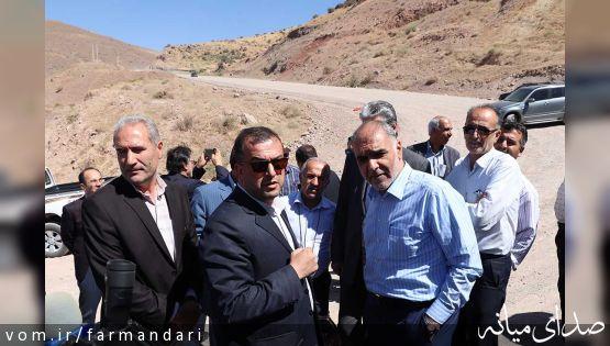 معاون وزیر راه و شهرسازی: راههای شهرستان میانه پاسخگوی ترافیک و حمل و نقل نیست+تصاویر بازدید