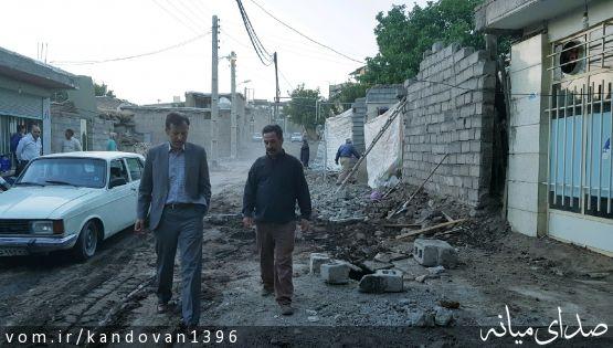 بخشدار کندوان میانه از جلب مشارکت ۳۸ خانواری و تعریض منازل آنها برای اجرای فاز ۲ طرح هادی در روستای بالسین خبر داد